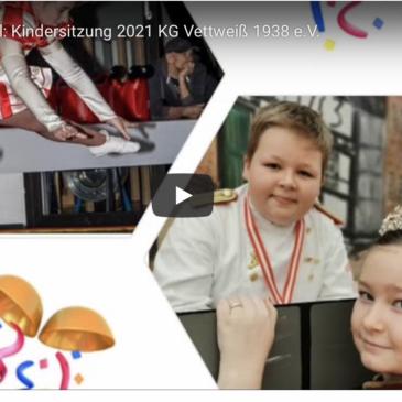 Kinderkarneval: virtuelle Kindersitzung 2021